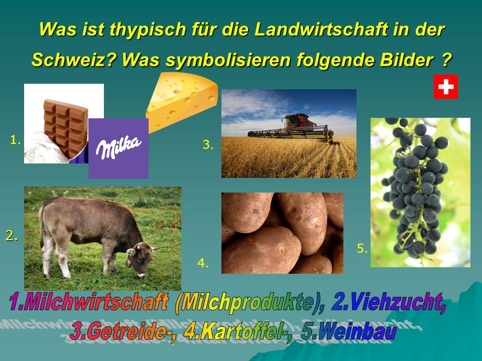 Was ist thypisch für die Landwirtschaft in der Schweiz.