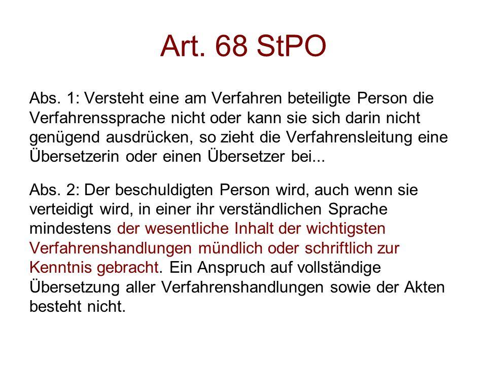 Art. 68 StPO Abs.