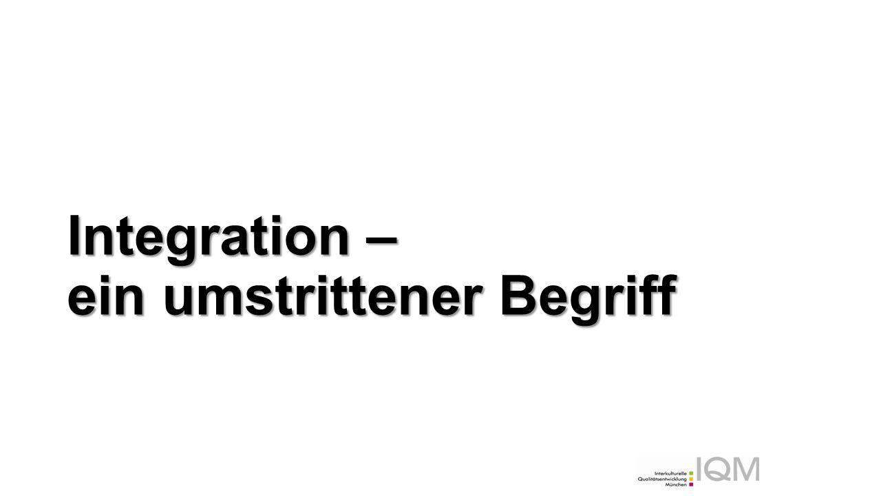 Eine neue Leitorientierung Anerkennung: Deutschland – ein Einwanderungsland.