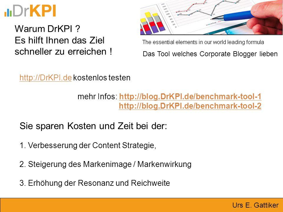 Warum DrKPI ? Es hilft Ihnen das Ziel schneller zu erreichen ! http://DrKPI.dehttp://DrKPI.de kostenlos testen mehr Infos: http://blog.DrKPI.de/benchm
