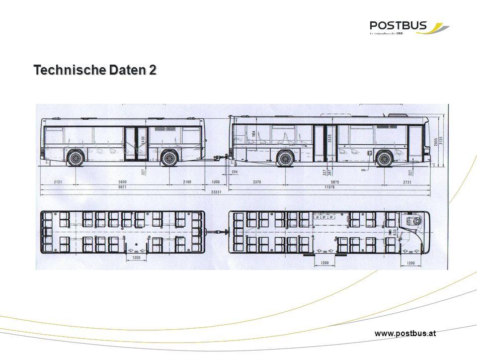 Technische Daten 2 www.postbus.at