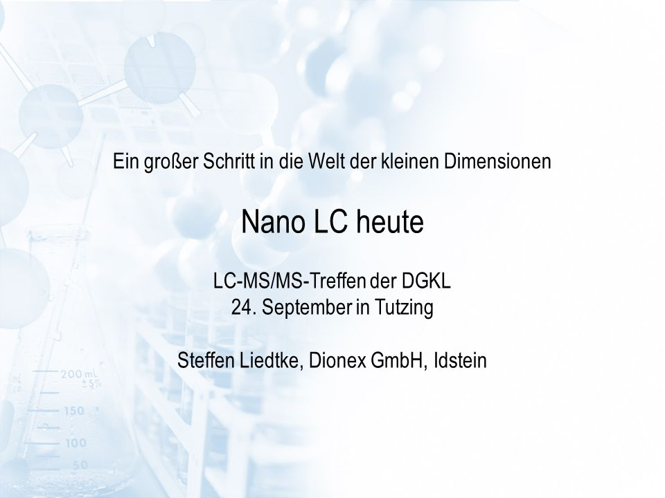 Advanced Column Switching Technologies Automated Offline 2D-LC