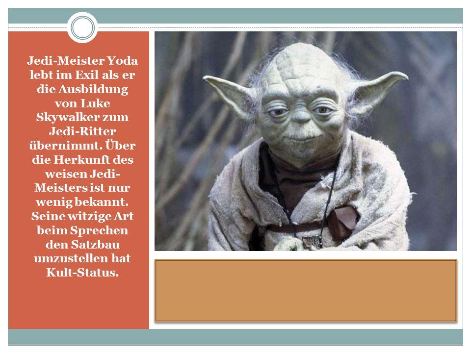 Jedi-Meister Yoda lebt im Exil als er die Ausbildung von Luke Skywalker zum Jedi-Ritter übernimmt.