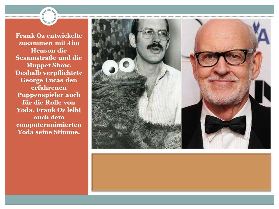 Frank Oz entwickelte zusammen mit Jim Henson die Sesamstraße und die Muppet Show.