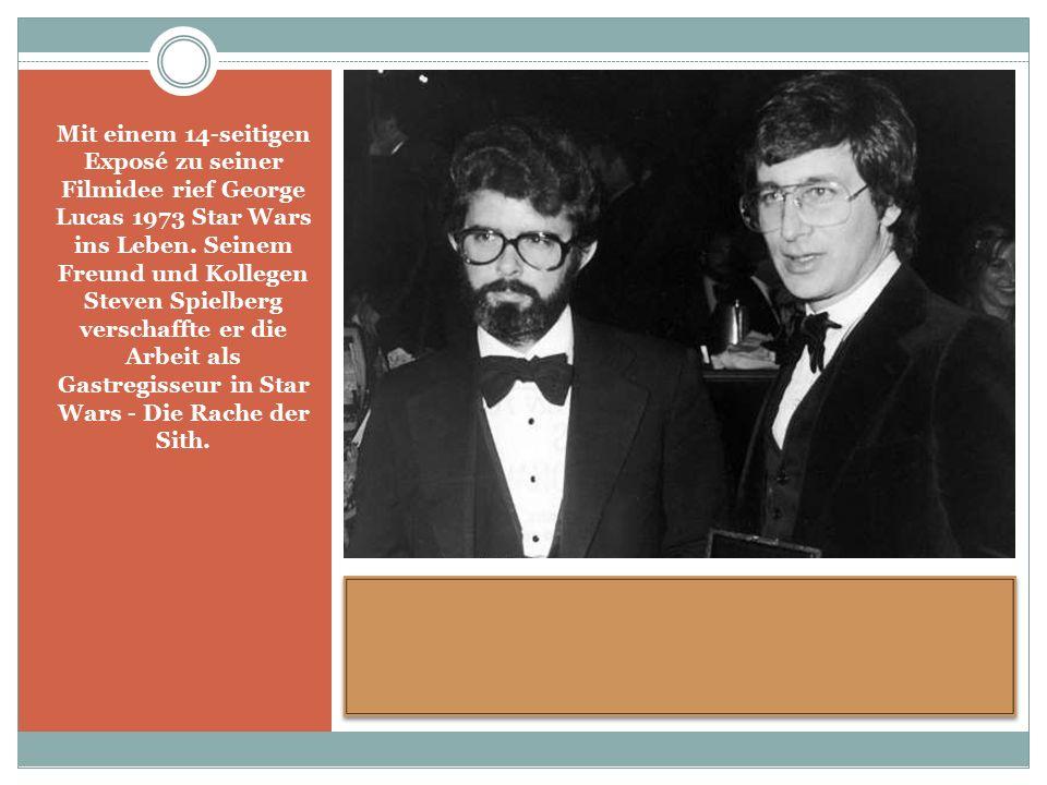 Mit einem 14-seitigen Exposé zu seiner Filmidee rief George Lucas 1973 Star Wars ins Leben.