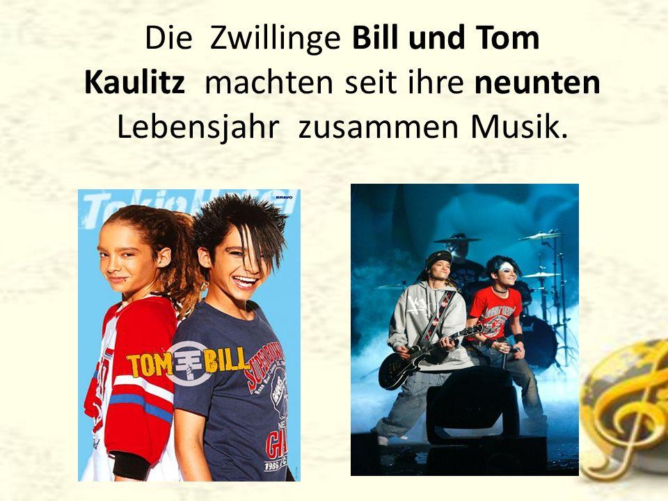 Bill Kaulitz ist Solist der Band, Synchronsprecher und Model.