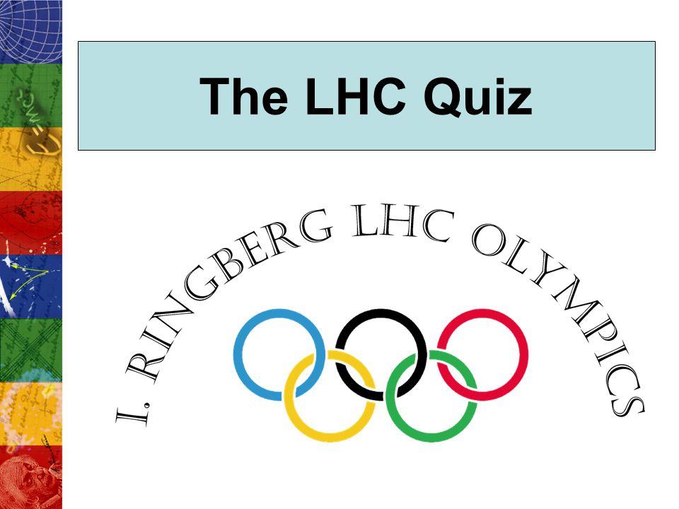The LHC Quiz