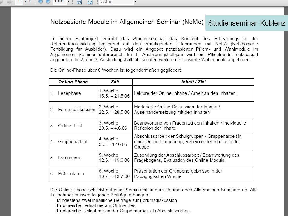 Studienseminar Koblenz