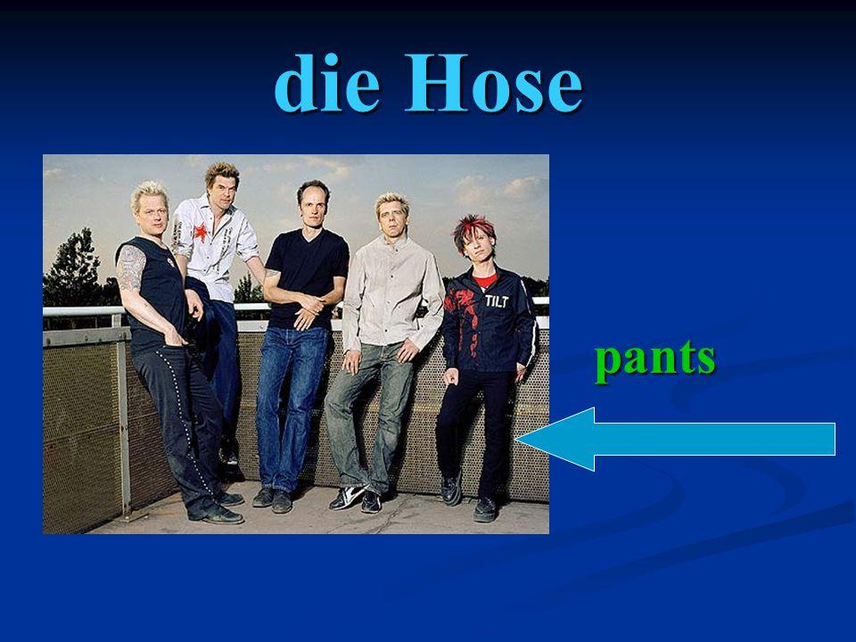 die Hose pants