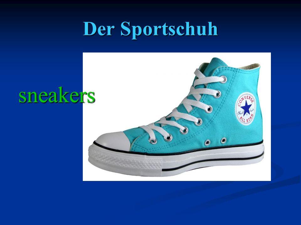 Der Sportschuh sneakers