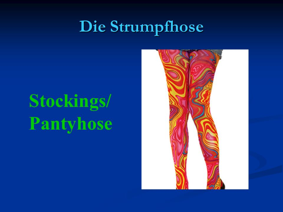 Die Strumpfhose Stockings/ Pantyhose