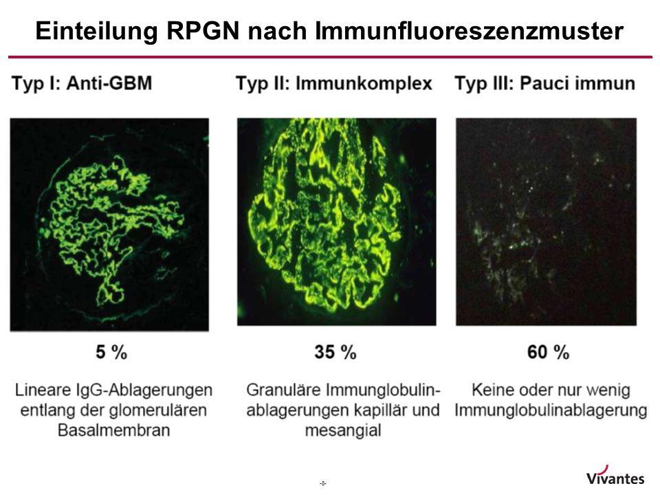-9- Diagnostisches Vorgehen bei V. a. RPGN