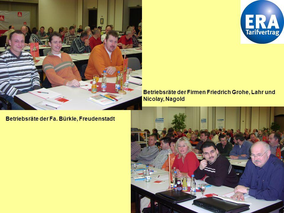 3 Dorothee Diehm, Gewerkschaftsekretärin der IG Metall Freudenstadt begrüßt Betriebsräte und Betriebsrätinnen zur ERA Konferenz.