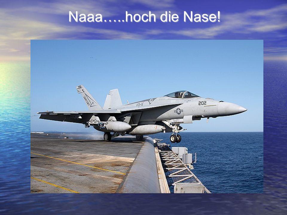 Naaa…..hoch die Nase!