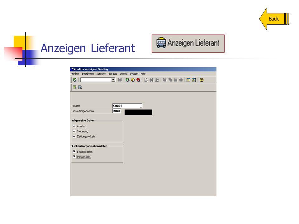 Anzeigen Lieferant Back