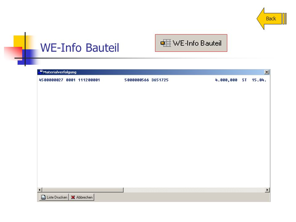 WE-Info Bauteil Back