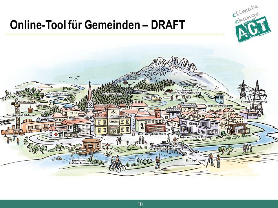 10 Online-Tool für Gemeinden – DRAFT