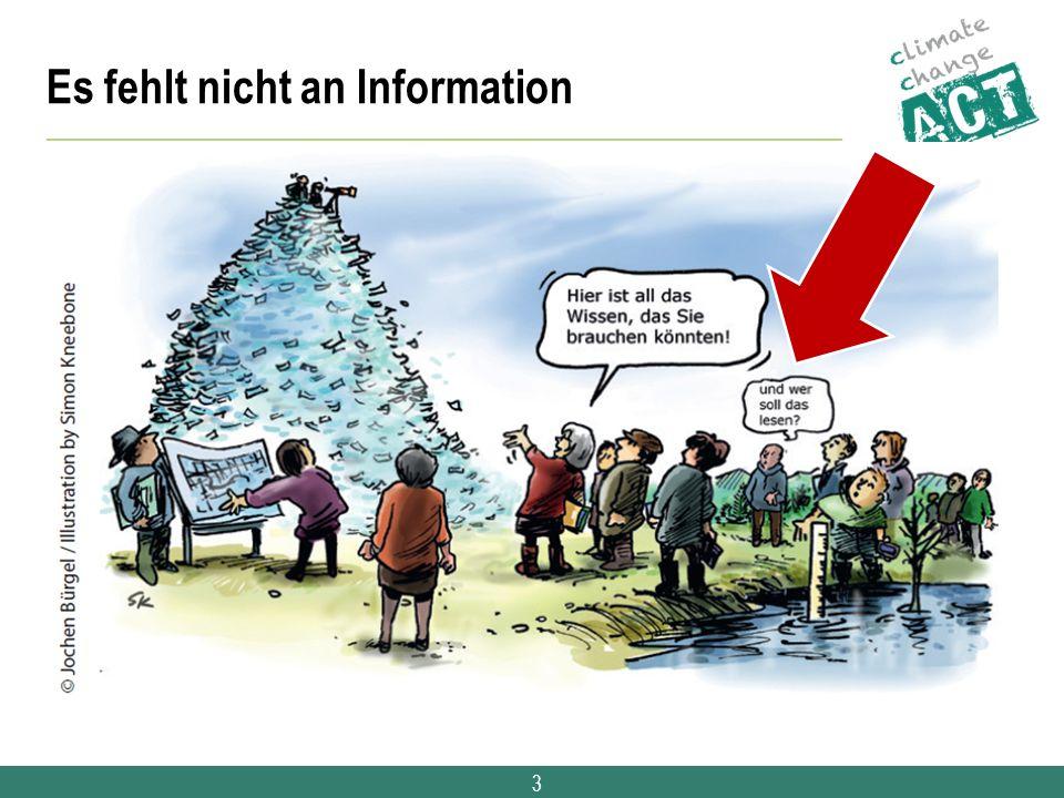 3 Es fehlt nicht an Information