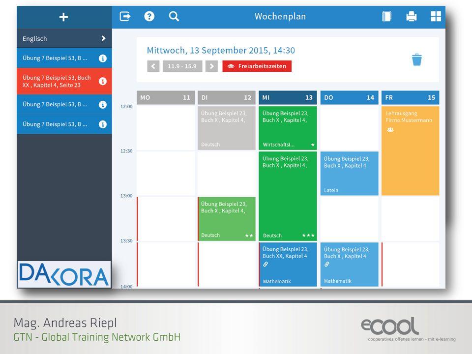 Dakora App (Das Arbeiten mit KOmpetenzRAstern)