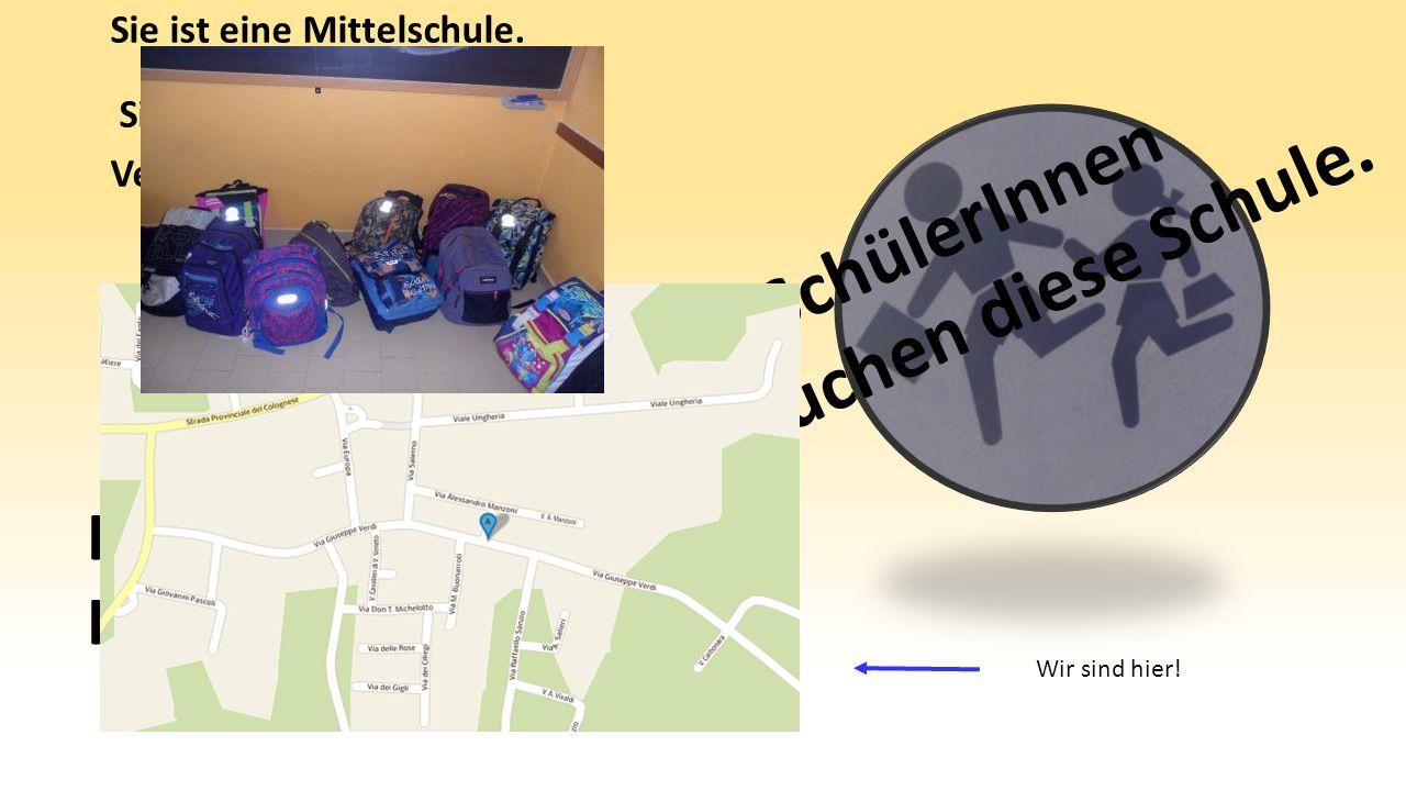 Sie ist eine Mittelschule. Sie liegt in Minerbe, in der Verdistraße, 114. 183 SchülerInnen besuchen diese Schule. In der Schule sind drei Kurse (A-B-C
