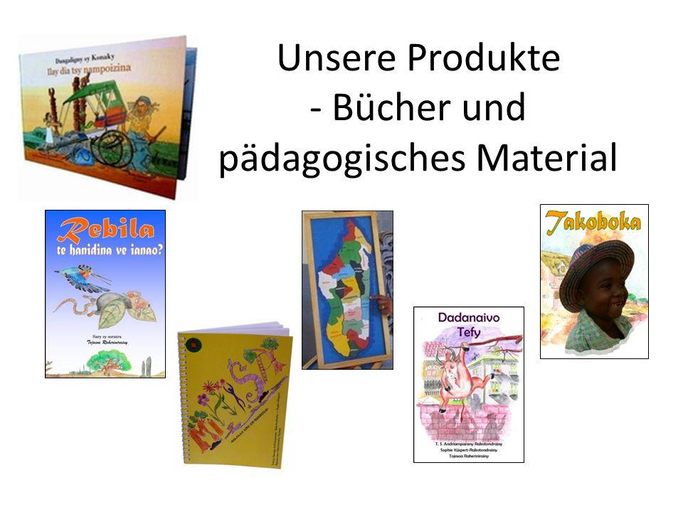 Unsere Produkte - Bücher und pädagogisches Material