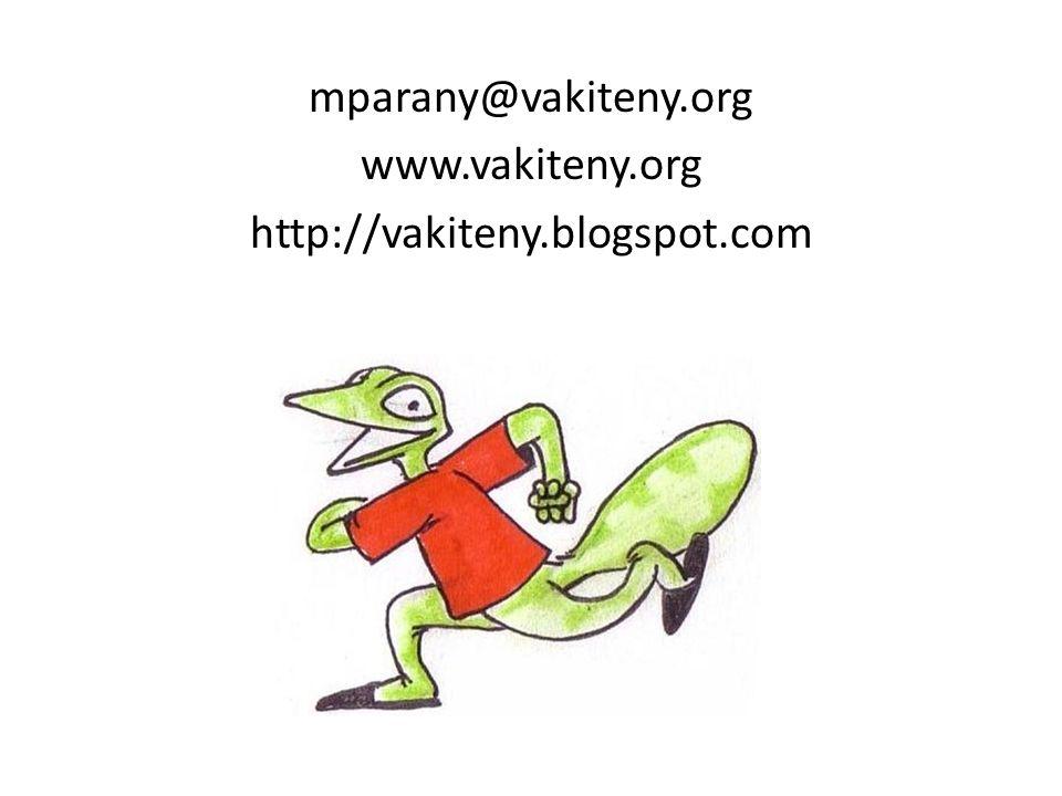 mparany@vakiteny.org www.vakiteny.org http://vakiteny.blogspot.com