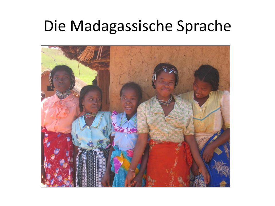 Die Madagassische Sprache