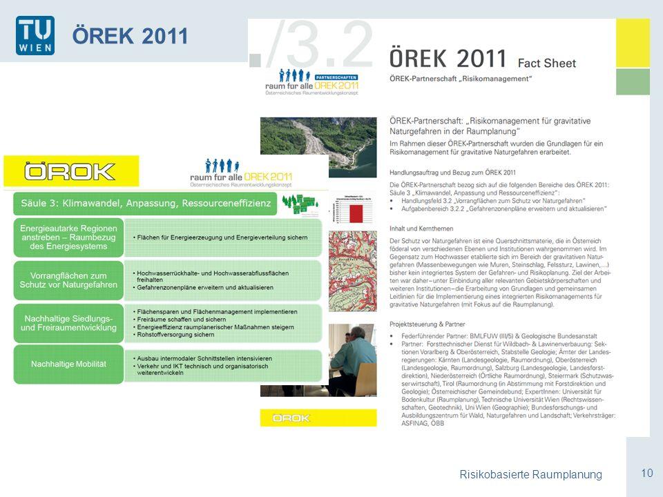 10 Risikobasierte Raumplanung ÖREK 2011
