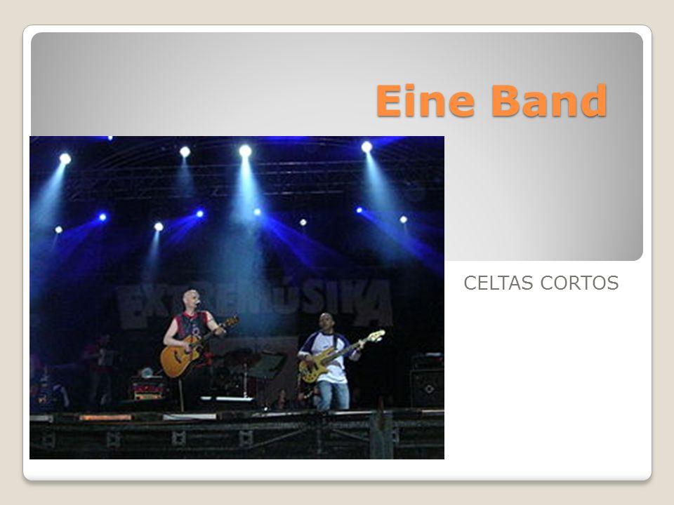 Sieben Musiker, das sind Celtas Cortos.Sie sind eine Band aus Spanien.