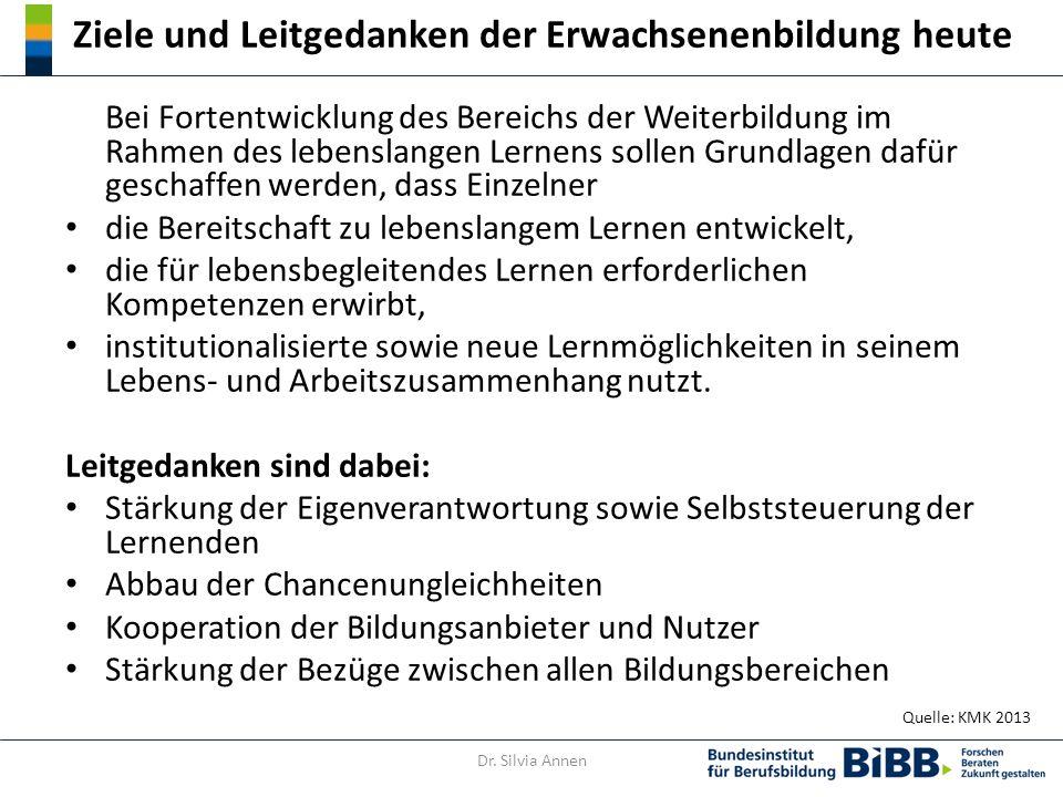 Abschlüsse formaler Weiterbildung versus non-formale Bildung In Deutschland existiert in der formalen Weiterbildung eine etabliertes und breit akzeptiertes Prüfungssystem der Kammern.
