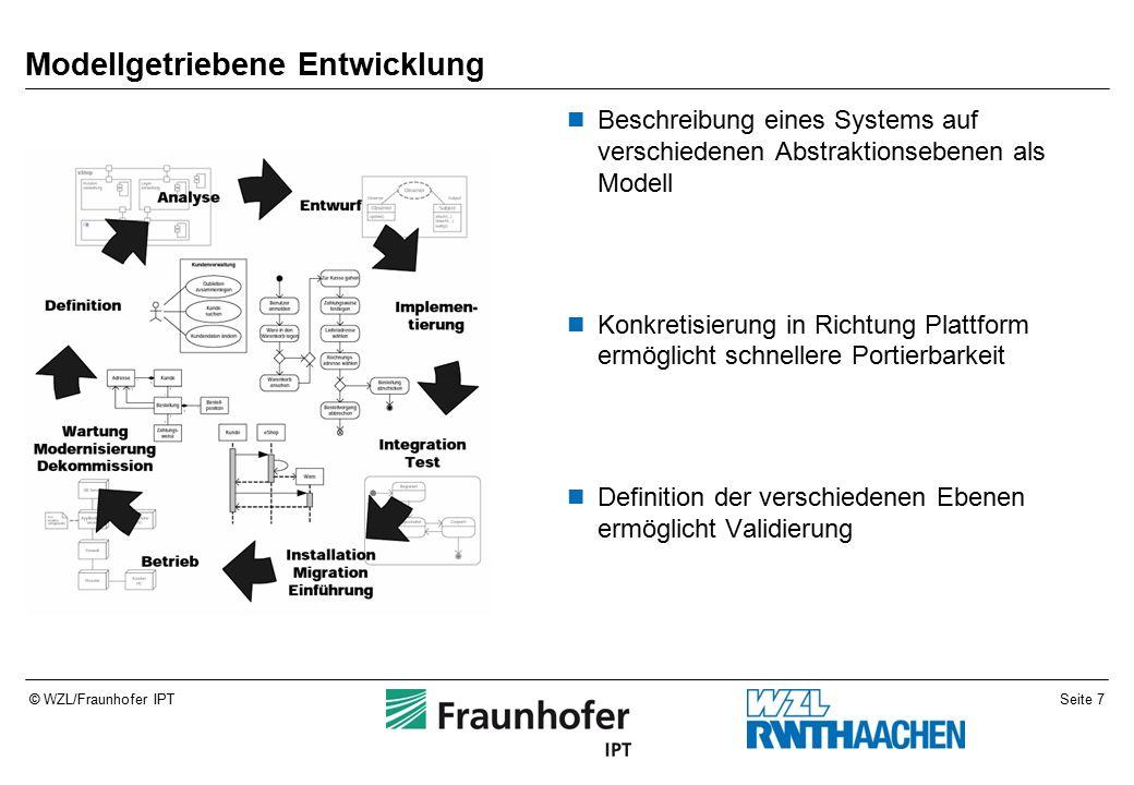 Seite 8© WZL/Fraunhofer IPT Modell Abstraktion bzw.