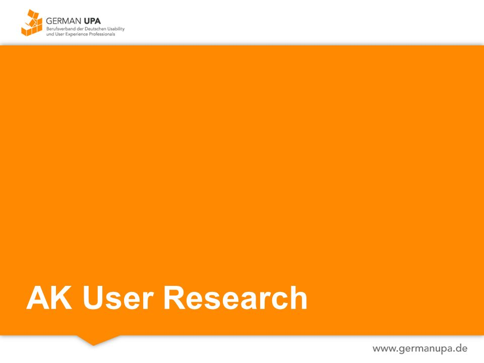 AK User Research