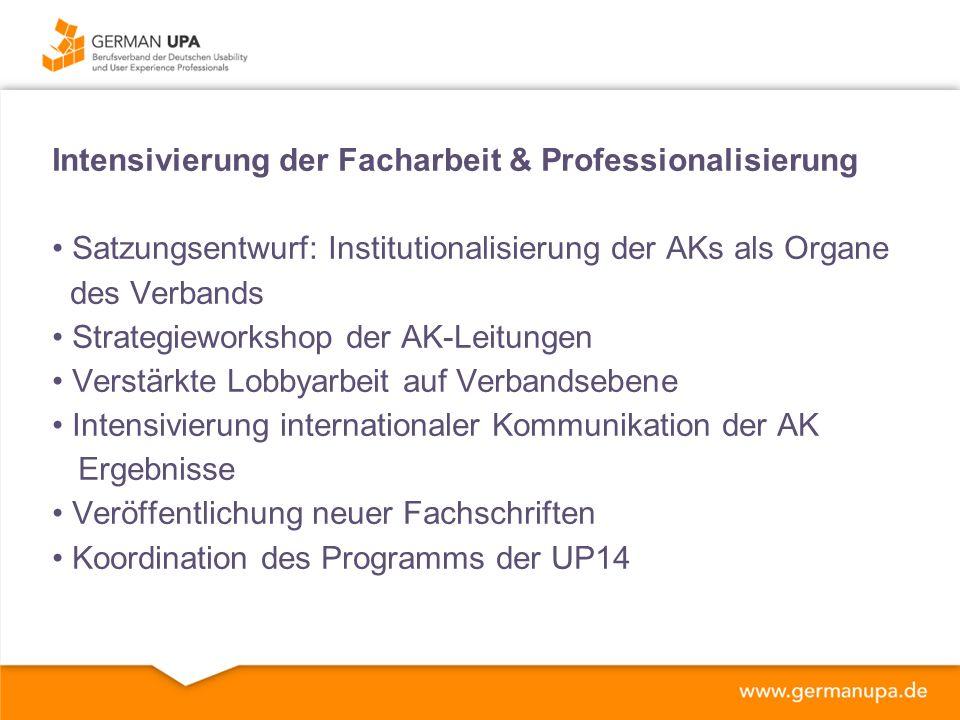 Usability Professionals Konferenz Durchführung letztes Jahr in Konstanz Vorbereitung der Konferenz in Bremen