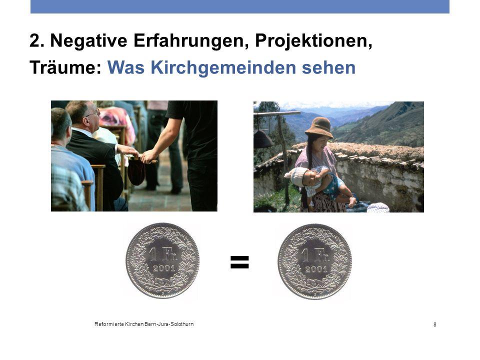 2. Negative Erfahrungen, Projektionen, Träume: Was Kirchgemeinden sehen Reformierte Kirchen Bern-Jura-Solothurn 8 =