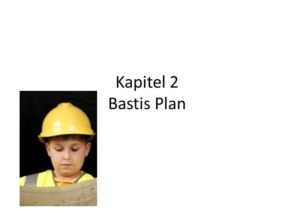 Kapitel 2 Bastis Plan