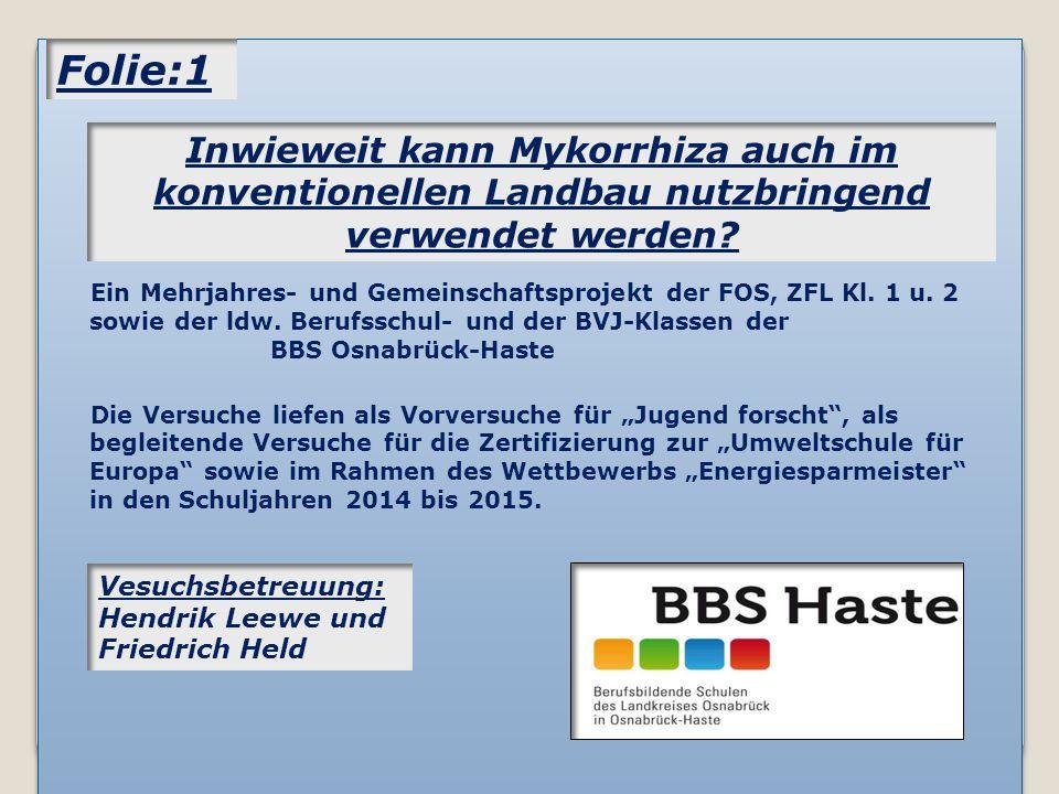 Ein Mehrjahres- und Gemeinschaftsprojekt der FOS, ZFL Kl.