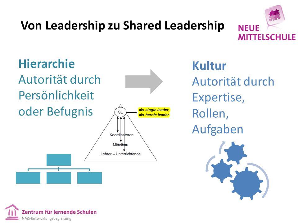 """Shared leadership als Merkmal des Systemlernens  """"Superman and Wonder Woman of school leadership - Erwartung durchbrechen."""