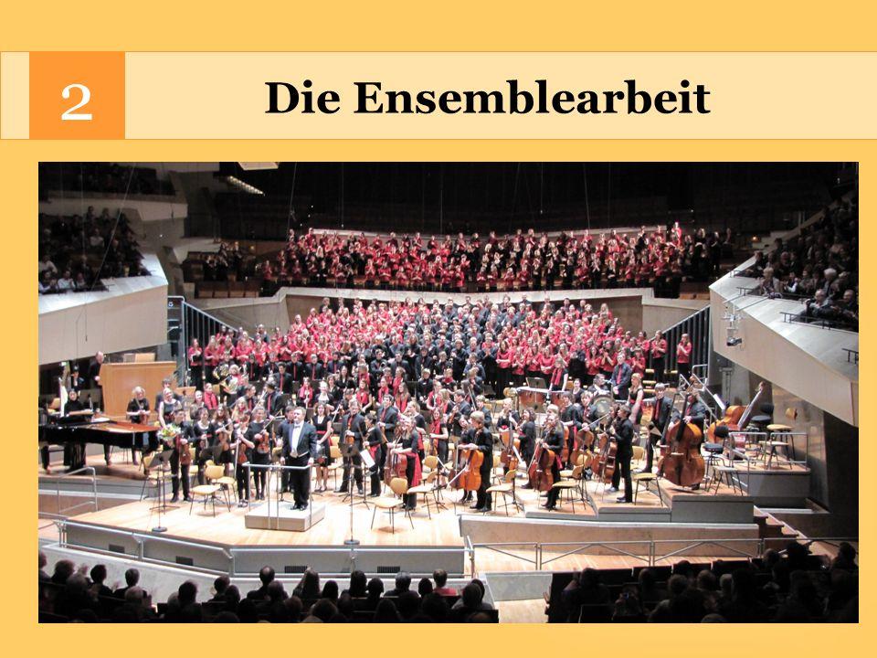 Die Ensemblearbeit 2 Großprojekte der Händelschule: Konzerthaus am Gendarmenmarkt, Berliner Philharmonie und Berliner Dom 1998 G.F.