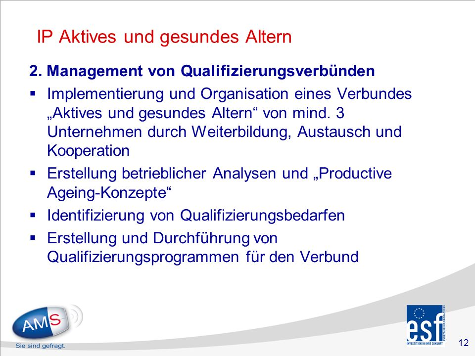 12 IP Aktives und gesundes Altern 2.
