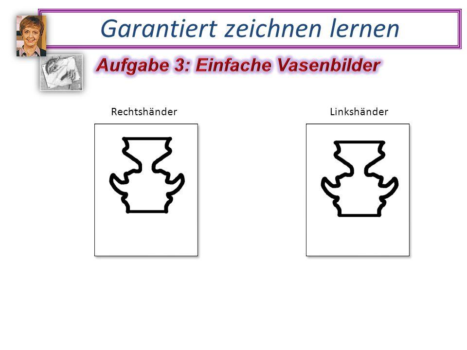 RechtshänderLinkshänder Garantiert zeichnen lernen 1