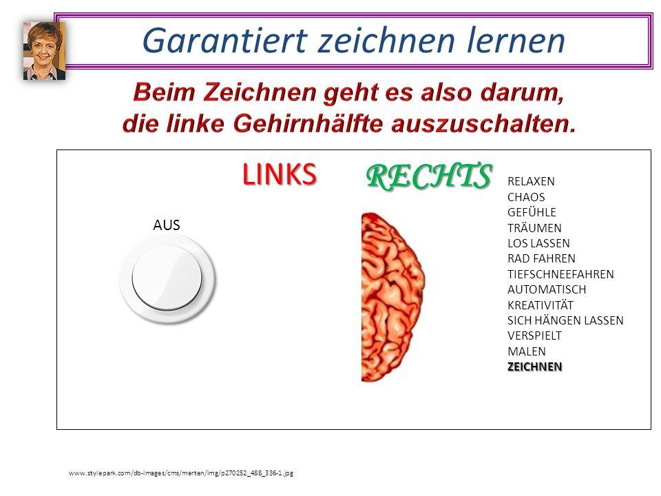 Garantiert zeichnen lernen www.stylepark.com/db-images/cms/merten/img/p270252_488_336-1.jpg RELAXEN CHAOS GEFÜHLE TRÄUMEN LOS LASSEN RAD FAHREN TIEFSCHNEEFAHREN AUTOMATISCH KREATIVITÄT SICH HÄNGEN LASSEN VERSPIELT MALENZEICHNEN RECHTS SYMBOLE DENKEN KORREKT GERADE RECHTER WINKEL LOGIK TECHNIK TECHNISCHES ZEICHNEN ZAHLEN MATHEMATIK WÖRTER SPRECHEN KRITISIEREN RADIEREN ZEITANGABEN SCHULE AUS LINKS