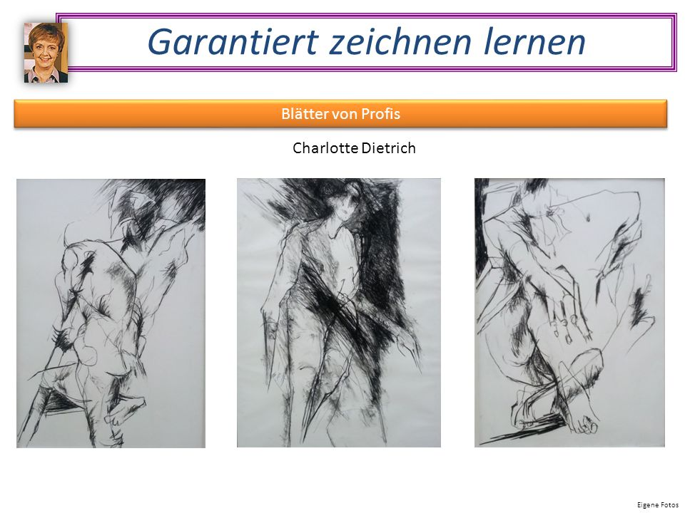 Garantiert zeichnen lernen Blätter von Profis Charlotte Dietrich Eigene Fotos