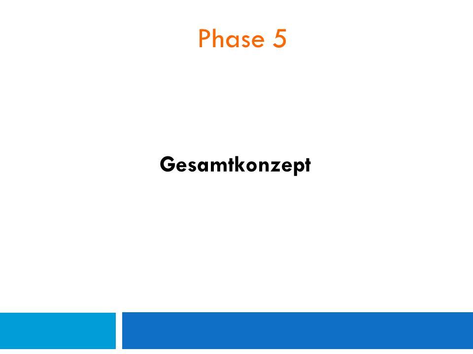 Phase 5 Gesamtkonzept