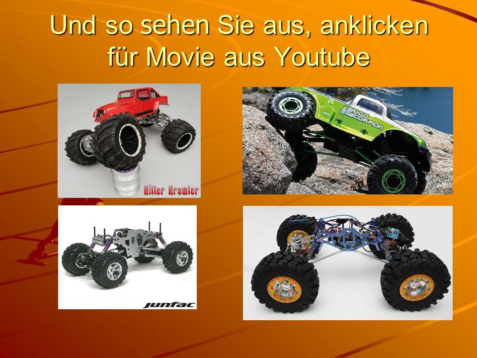 Inspirationsquellen Auf Youtube nach RC-Crawler suchen Herstellerhomepages besuchen Axial Losi HPI Tamiya usw.