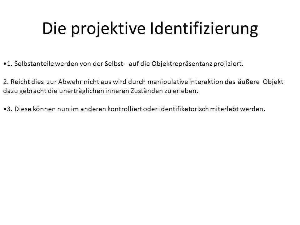 Die projektive Identifizierung 1.