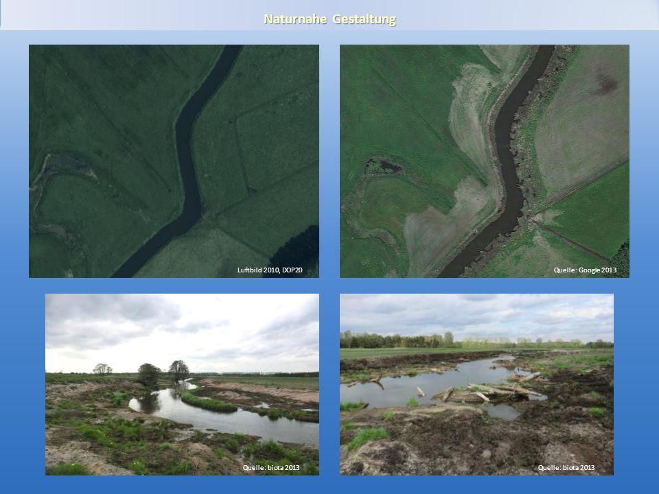 Gewässerentwicklungskonzept Plane-Buckau Naturnahe Gestaltung Luftbild 2010, DOP20Quelle: Google 2013 Quelle: biota 2013