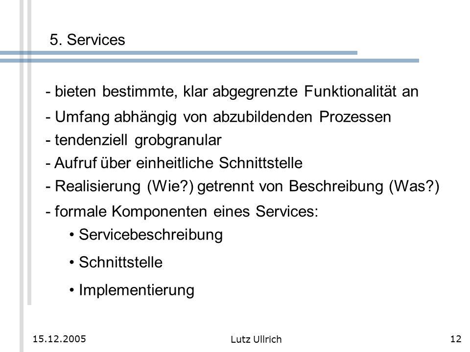 12 Lutz Ullrich 15.12.2005 5.
