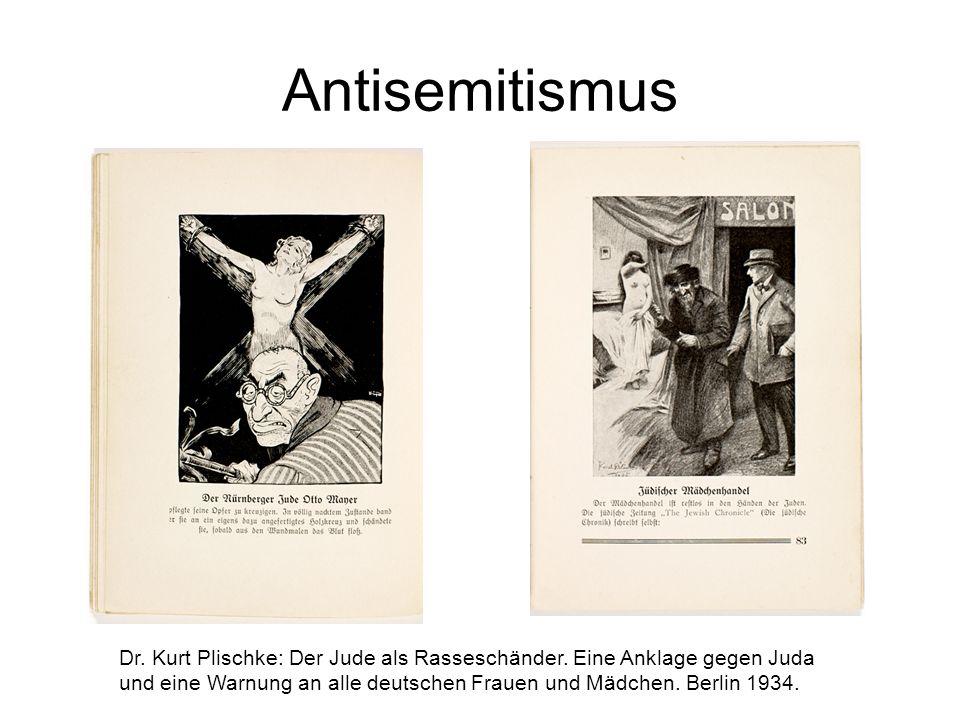 Dr. Kurt Plischke: Der Jude als Rasseschänder.