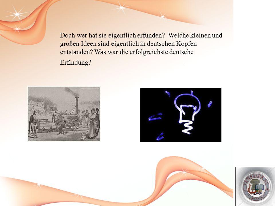 Aus Deutschland stammende Uhrmacher Heinrich Goebel hatte 1854 die erste gebrauchsfähige Glühlampe gebracht.