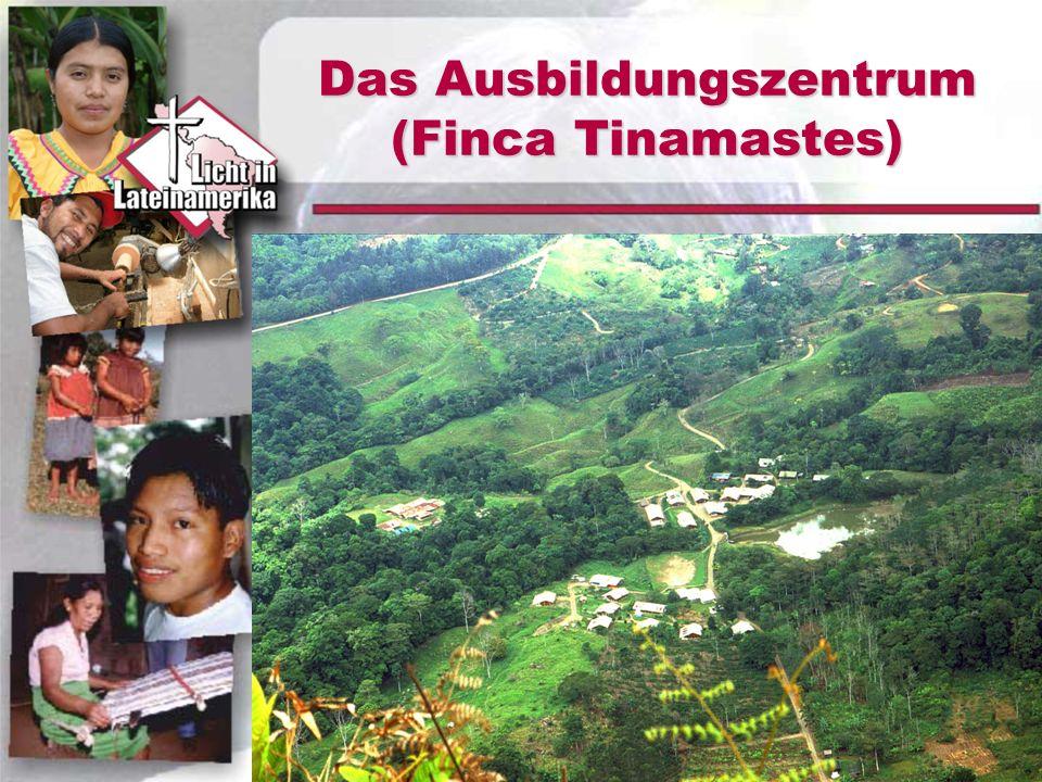 Das Ausbildungszentrum (Finca Tinamastes)